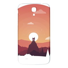 Design Art Hill Hut Landscape Samsung Galaxy Mega I9200 Hardshell Back Case