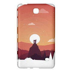 Design Art Hill Hut Landscape Samsung Galaxy Tab 4 (7 ) Hardshell Case