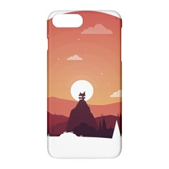 Design Art Hill Hut Landscape Apple Iphone 7 Plus Hardshell Case