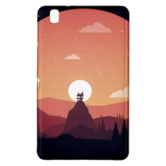 Design Art Hill Hut Landscape Samsung Galaxy Tab Pro 8 4 Hardshell Case