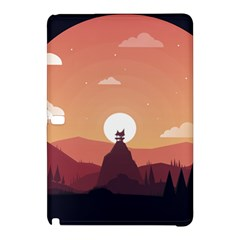Design Art Hill Hut Landscape Samsung Galaxy Tab Pro 12 2 Hardshell Case
