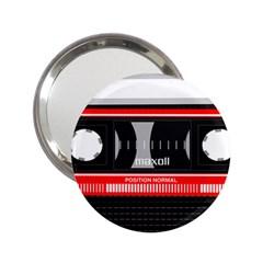 Compact Cassette Musicassette Mc 2 25  Handbag Mirrors