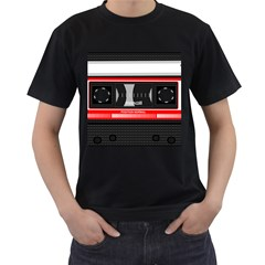 Compact Cassette Musicassette Mc Men s T Shirt (black)