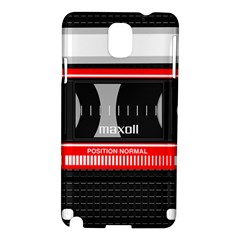 Compact Cassette Musicassette Mc Samsung Galaxy Note 3 N9005 Hardshell Case