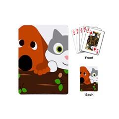 Baby Decoration Cat Dog Stuff Playing Cards (mini)