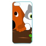 Baby Decoration Cat Dog Stuff Apple Seamless iPhone 5 Case (Color) Front