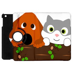 Baby Decoration Cat Dog Stuff Apple Ipad Mini Flip 360 Case