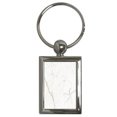 White Marble Tiles Rock Stone Statues Key Chains (rectangle)