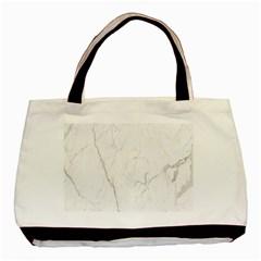 White Marble Tiles Rock Stone Statues Basic Tote Bag