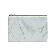 White Marble Tiles Rock Stone Statues Cosmetic Bag (medium)