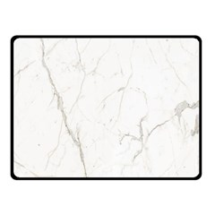 White Marble Tiles Rock Stone Statues Fleece Blanket (small)