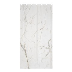 White Marble Tiles Rock Stone Statues Shower Curtain 36  X 72  (stall)