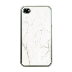 White Marble Tiles Rock Stone Statues Apple Iphone 4 Case (clear) by Nexatart