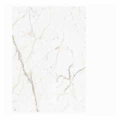 White Marble Tiles Rock Stone Statues Large Garden Flag (two Sides)