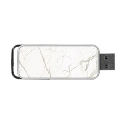 White Marble Tiles Rock Stone Statues Portable Usb Flash (one Side)