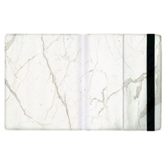 White Marble Tiles Rock Stone Statues Apple Ipad 3/4 Flip Case