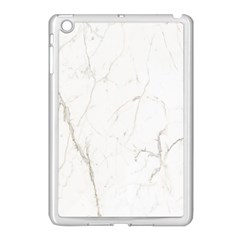 White Marble Tiles Rock Stone Statues Apple Ipad Mini Case (white)