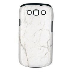 White Marble Tiles Rock Stone Statues Samsung Galaxy S Iii Classic Hardshell Case (pc+silicone)
