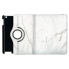 White Marble Tiles Rock Stone Statues Apple Ipad 2 Flip 360 Case
