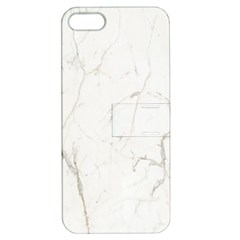 White Marble Tiles Rock Stone Statues Apple Iphone 5 Hardshell Case With Stand
