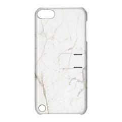 White Marble Tiles Rock Stone Statues Apple Ipod Touch 5 Hardshell Case With Stand