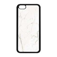 White Marble Tiles Rock Stone Statues Apple Iphone 5c Seamless Case (black)