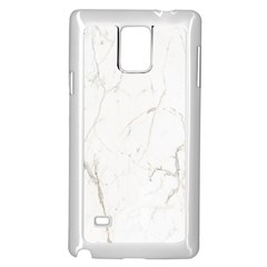 White Marble Tiles Rock Stone Statues Samsung Galaxy Note 4 Case (white)
