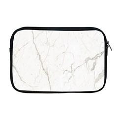 White Marble Tiles Rock Stone Statues Apple Macbook Pro 17  Zipper Case