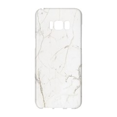 White Marble Tiles Rock Stone Statues Samsung Galaxy S8 Hardshell Case