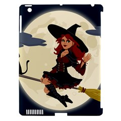 Witch Witchcraft Broomstick Broom Apple Ipad 3/4 Hardshell Case (compatible With Smart Cover)