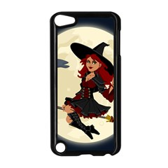 Witch Witchcraft Broomstick Broom Apple Ipod Touch 5 Case (black)