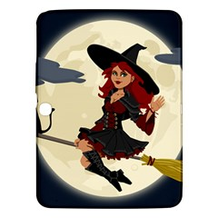 Witch Witchcraft Broomstick Broom Samsung Galaxy Tab 3 (10 1 ) P5200 Hardshell Case