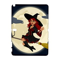 Witch Witchcraft Broomstick Broom Galaxy Note 1 by Nexatart