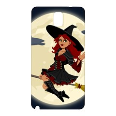 Witch Witchcraft Broomstick Broom Samsung Galaxy Note 3 N9005 Hardshell Back Case