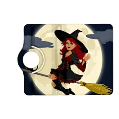 Witch Witchcraft Broomstick Broom Kindle Fire Hd (2013) Flip 360 Case