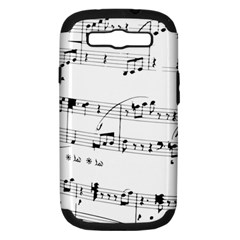 Abuse Background Monochrome My Bits Samsung Galaxy S Iii Hardshell Case (pc+silicone)