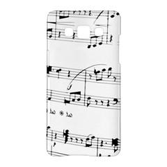 Abuse Background Monochrome My Bits Samsung Galaxy A5 Hardshell Case