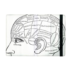 Brain Chart Diagram Face Fringe Ipad Mini 2 Flip Cases