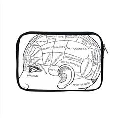 Brain Chart Diagram Face Fringe Apple Macbook Pro 15  Zipper Case