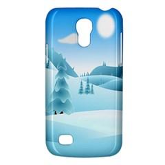 Landscape Winter Ice Cold Xmas Galaxy S4 Mini