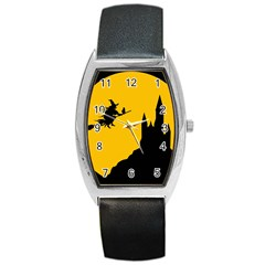 Castle Cat Evil Female Fictional Barrel Style Metal Watch