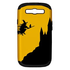 Castle Cat Evil Female Fictional Samsung Galaxy S Iii Hardshell Case (pc+silicone)