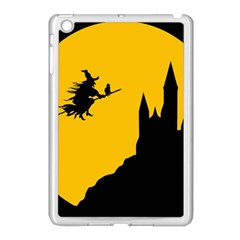 Castle Cat Evil Female Fictional Apple Ipad Mini Case (white) by Nexatart