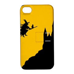 Castle Cat Evil Female Fictional Apple Iphone 4/4s Hardshell Case With Stand