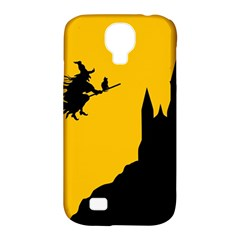 Castle Cat Evil Female Fictional Samsung Galaxy S4 Classic Hardshell Case (pc+silicone)