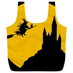 Castle Cat Evil Female Fictional Full Print Recycle Bags (l)