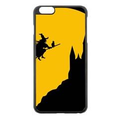 Castle Cat Evil Female Fictional Apple Iphone 6 Plus/6s Plus Black Enamel Case