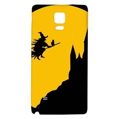 Castle Cat Evil Female Fictional Galaxy Note 4 Back Case