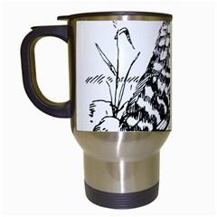 Animal Bird Forest Nature Owl Travel Mugs (white)