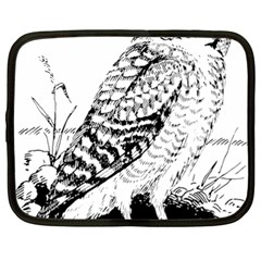 Animal Bird Forest Nature Owl Netbook Case (xl)